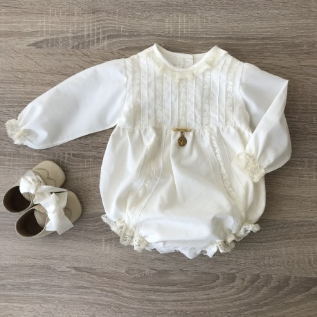 Baby Romper Antique