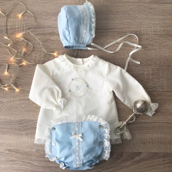 Conjunto Cotton Candy Azul
