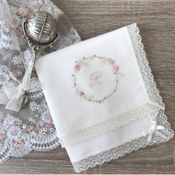 Hand Embroidered Hankie Tristan