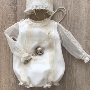 Baby Romper for Christening  Wndsor