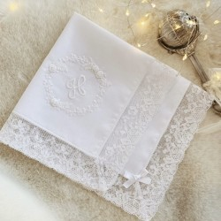 Hand Embroidered Hankie -...