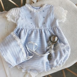 Baby Romper Hand Embroidered