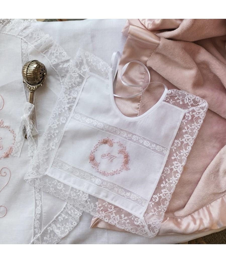 Baby Bib hand embroidery -...